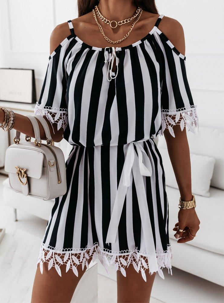 Sukienka w paski Sibora