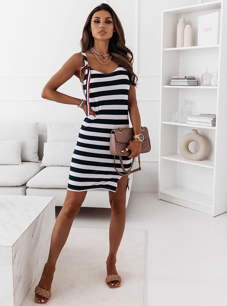 Sukienka w paski Aldone