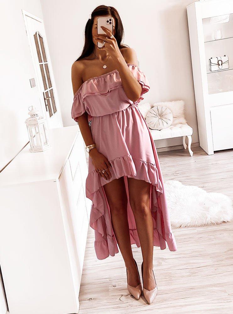 Asymetryczna sukienka hiszpanka Dari-...