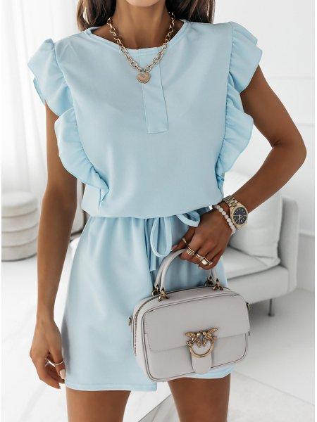 Błękitna sukienka typu...