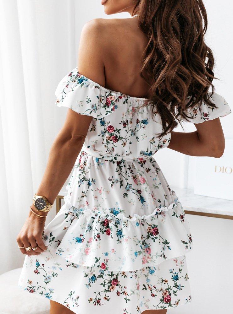Sukienka z falbankami Anneta - D22C1