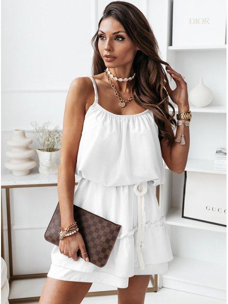 Biała sukienka na...