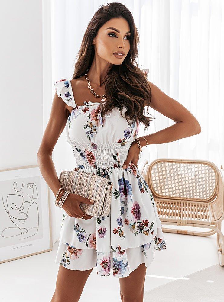 Sukienka hiszpanka z wiązaniem...