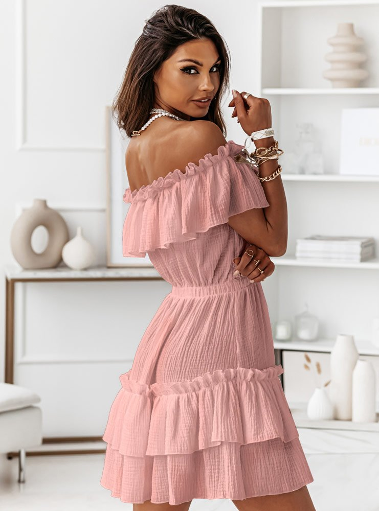 Muślinowa sukienka hiszpanka Candi -...