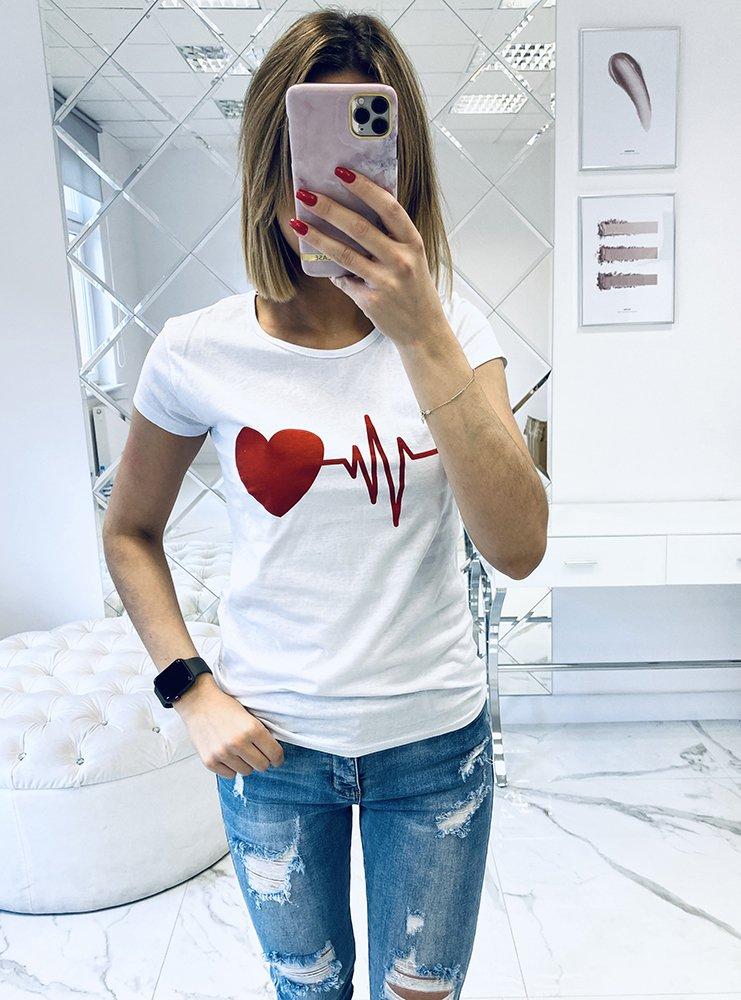 T-shirt koszulka z nadrukiem print...