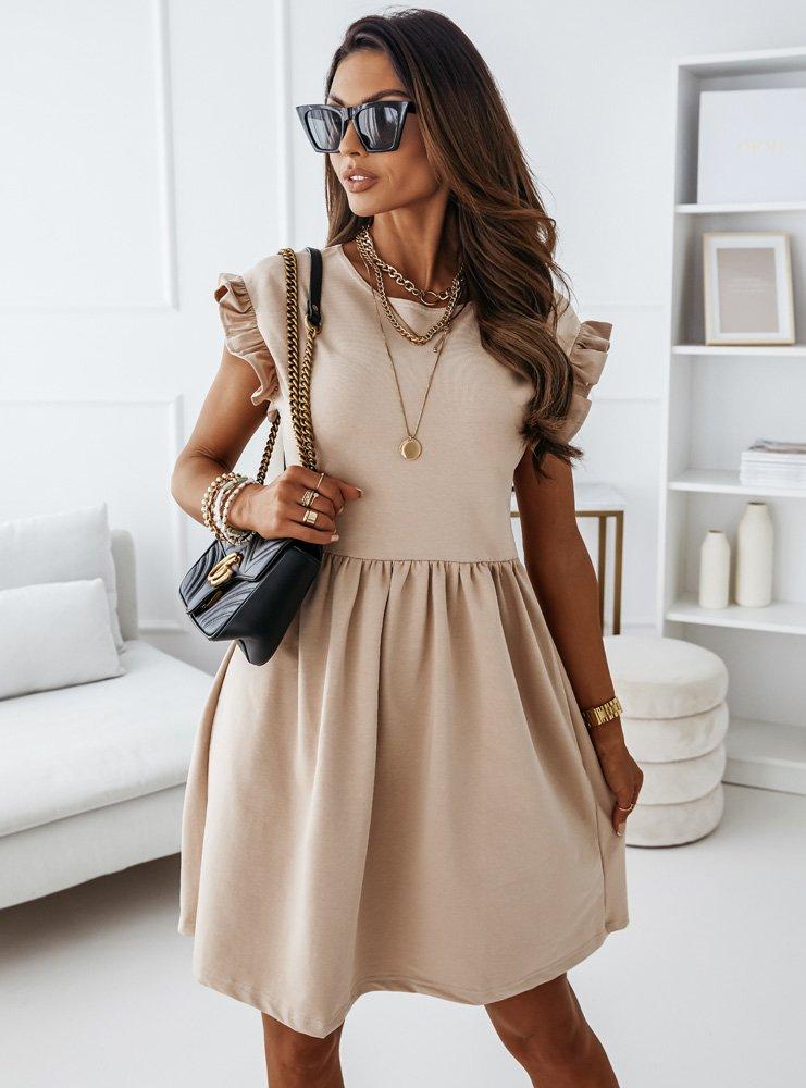 Sukienka z krótkim rękawkiem Ridaa -...