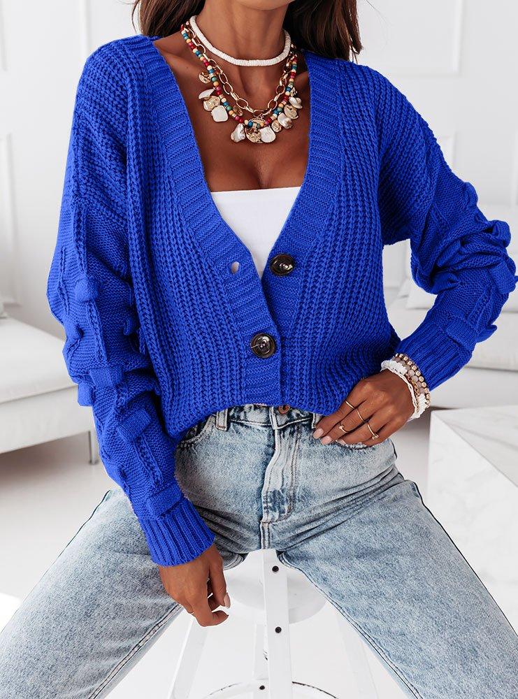 Sweterek z ozdobnymi rękawami Marikaa...