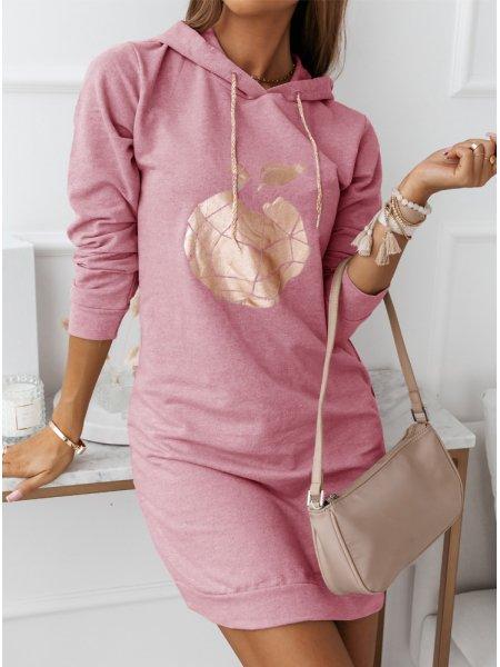 Różowa sukienka sportowa z...