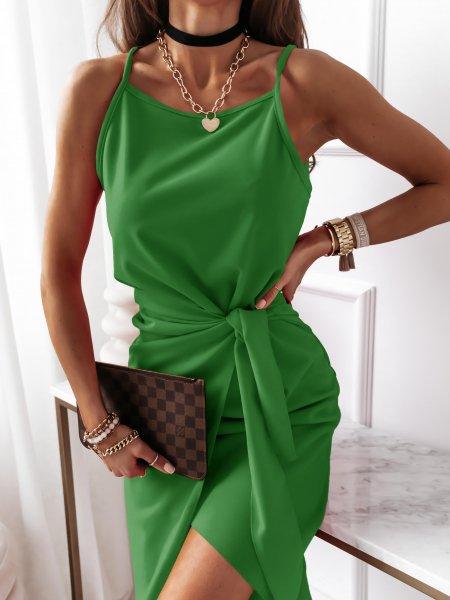 Zielona sukienka na...
