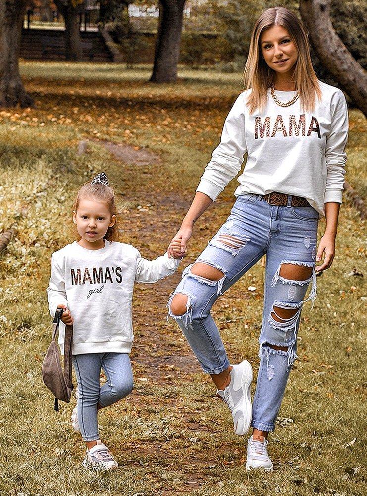 Zestaw bluz dla mamy i córki Naniko