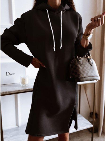 Czarna sportowa sukienka z...