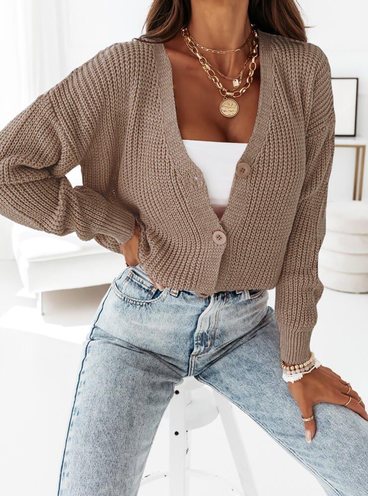 Sweterek zapinany na guziki Melanii -...