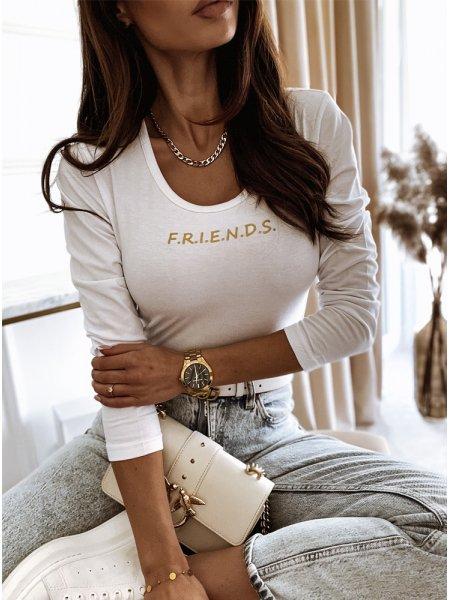 Bluzka z modnym nadrukiem...