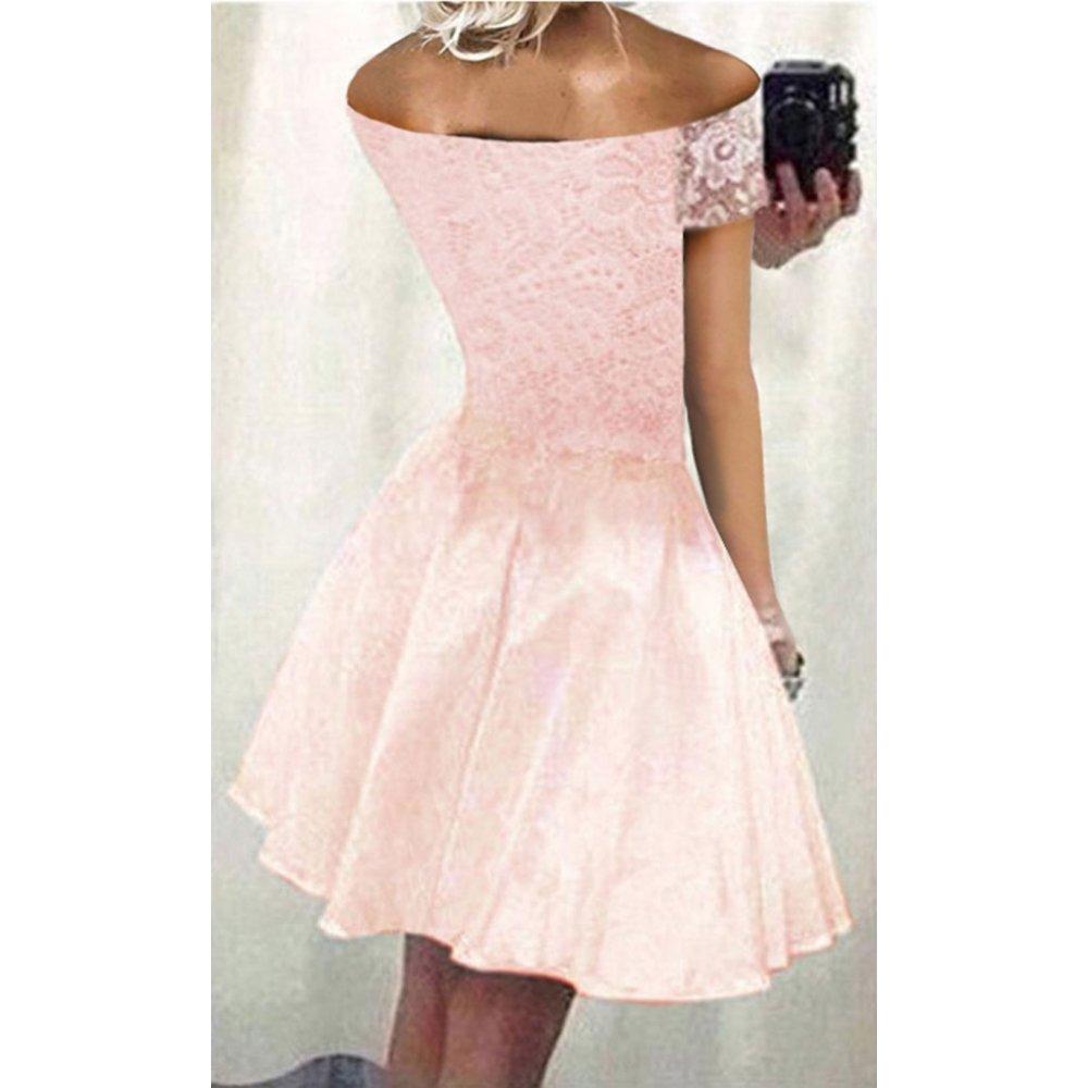 198102ad8 Rozkloszowana sukienka z koronki- nowość - cena, opinie | sklep ...
