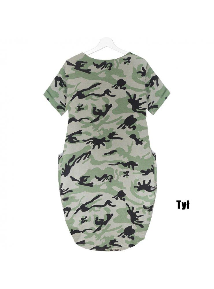 ce2f10b5 Luźna sukienka moro aylen - cena, opinie | sklep internetowy Pakuten