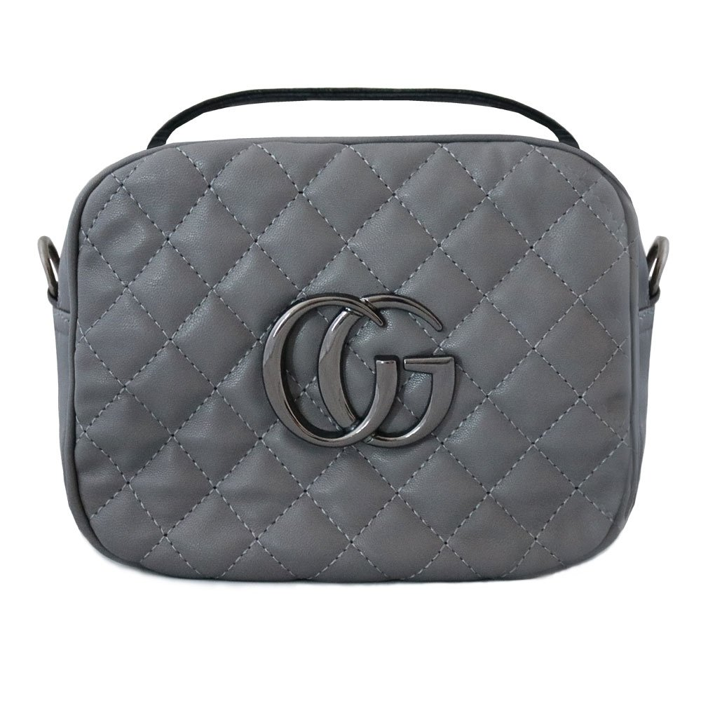 7db5cac3326f5 Sp szara pikowana torebka parisot - cena, opinie | sklep internetowy ...