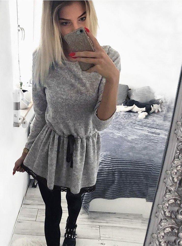 b2805afefc Tanie sukienki dzianinowe na jesień i zimę