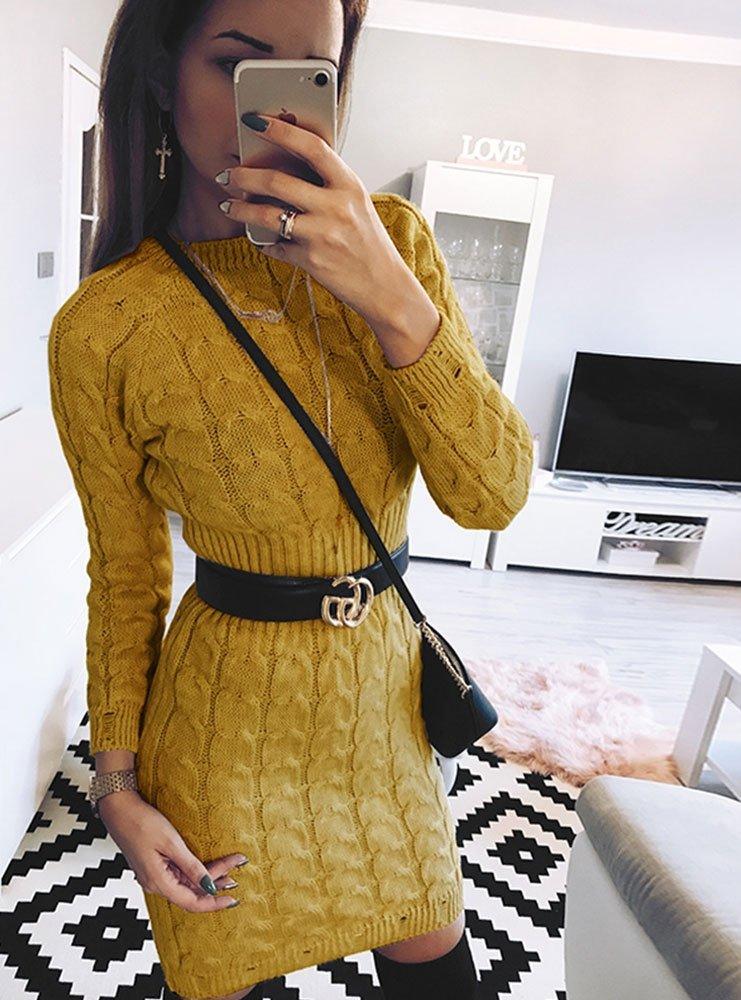Sukienka sweterkowa mandy cena, opinie   sklep internetowy