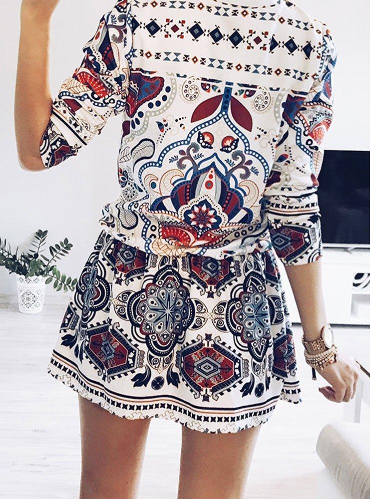 bf1c68d0 Sukienka w etno wzory aracelia - cena, opinie | sklep internetowy ...