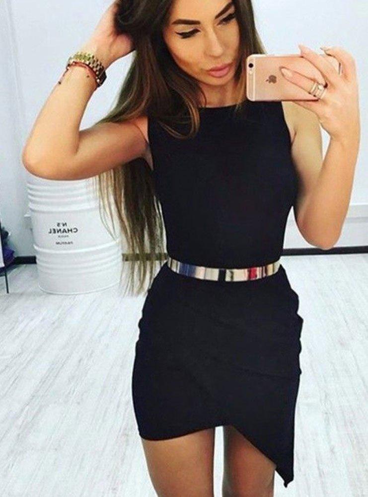 53eeff8e42 Asymetryczna sukienka kopertowa - cena
