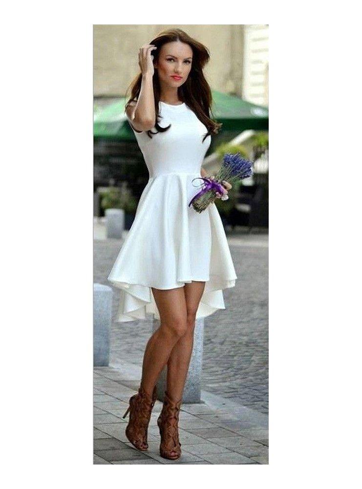97a617ffba Zwiewna sukienka o nieregularnym kroju - cena